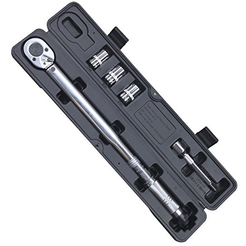 "HG Automatic 1/2"" Torque Wrench Drive Click Type Ratcheting With Hard Case Up to 210Nm"