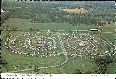 Kentucky Horse Park Lexington Original Vintage Postcard