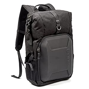 Evecase Digital Camera DSLR Backpack with Laptop Compartment