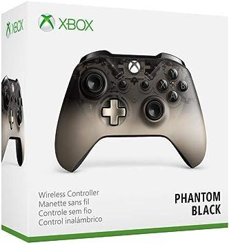 Microsoft - Mando Inalámbrico Negro (Phantom Black), Xbox One ...