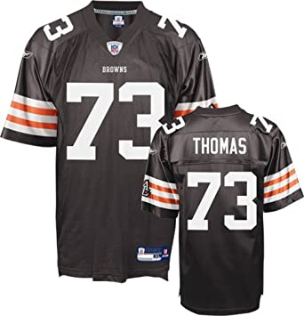 brand new 789e6 642b5 Amazon.com : Reebok Cleveland Browns Joe Thomas Replica ...