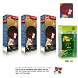 3 X Farger R/mix Premium Permanent Hair Dye Color Cream Red Punk Goth XXL Equals 2 Dye Boxes [Get Free Tomato Facial Mask ]+++
