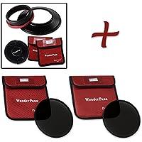WonderPana XL Essential ND Kit - Core Filter Holder, Lens Cap, 186mm ND16 & ND32 Filters for Canon EF 11-24mm f/4L USM Lens (Full Frame 35mm)