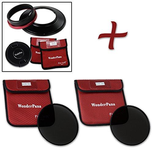 WonderPana XL Essential NDキット – コアフィルタホルダー、レンズキャップ、186 mm nd16 & nd32 Filters for Canon EF 11 – 24 mm f/4l USMレンズ(フルフレーム35 mm)   B01DQ0PNTI