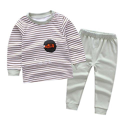 Pyjamas Pour Enfants Pour Les Garçons Pyjama, Garçons Longue Tenue Manches, Pjs De Voiture 'enfants Taille 1-5 Âge, Ensemble De Vêtements De Vêtements De Nuit
