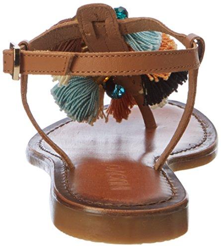 Inuovo 7334, Chanclas para Mujer marrón (Coconut)