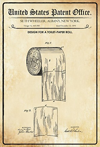 ComCard US Patentes - Design For A Toilet Paper Roll ...