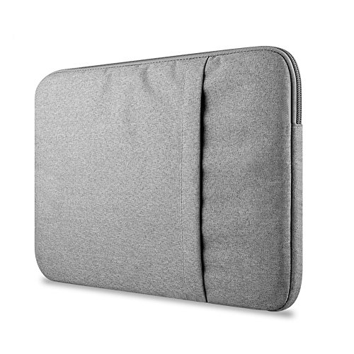 Funda Blanda Bolso Sleeve Para Ordenador Portátil / Macbook / Ultrabook Netbook Apple Gray