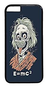 ACESR Albert Einstein iPhone 6 Hard Case PC - Black, Back Cover Case for Apple iPhone 6(4.7 inch)