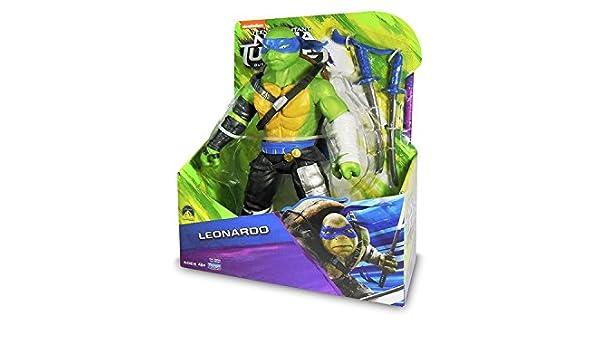 Tortugas Ninja 2 Figura Leonardo: Amazon.es: Juguetes y juegos