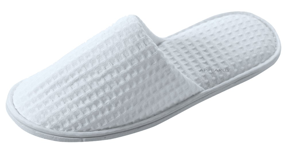 Appearus Cotton Waffle Slippers (100 Pairs) by Appearus (Image #2)