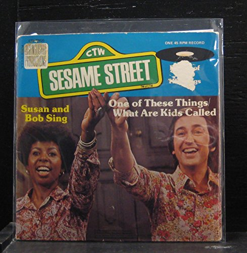 [45 RPM Record] Susan & Bob Sing - One of These Things/ What Are Kids Called