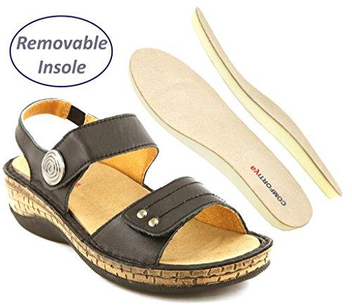 Comfortiya Womens Kaylee Leather Slingback product image