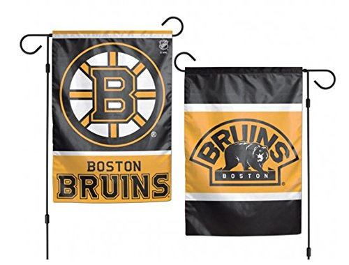 NHL Boston Bruins 2-Sided Garden Flag, 12 x 18-inches