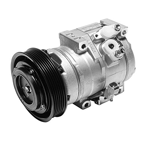 Denso 471-1538 New Compressor with Clutch (Compressor Accord)