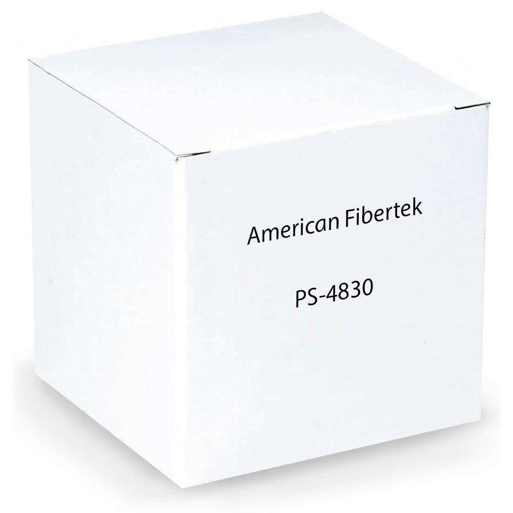 American Fibertek, Inc. PWR SPPLY, 48V/ 30W, FOR -POE MDL - A3W_AZ-PS4830 by AMERICAN FIBERTEK