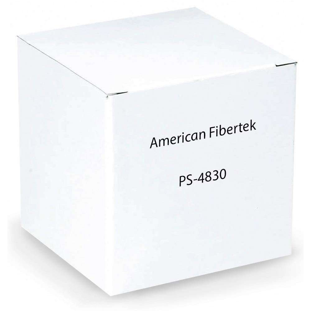 American Fibertek, Inc. PWR SPPLY, 48V/ 30W, FOR -POE MDL - A3W_AZ-PS4830