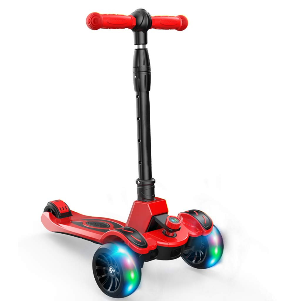 112歳のキックスクーターの子供たち B07QZRLHPM A、4つのフラッシュホイールを備えた折りたたみ可能なデザイン滑り止めの手すりがどんなスキルレベルの子供のためにも簡単に屋外レクリエーションを操縦するのに役立ちます A B07QZRLHPM, ちかもんくん さつまいも:2d32aac6 --- bama118.com