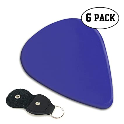 ba684a39fbf1 Amazon.com: MOANDJI Blue Pigment Solid Color Stylish Celluloid ...