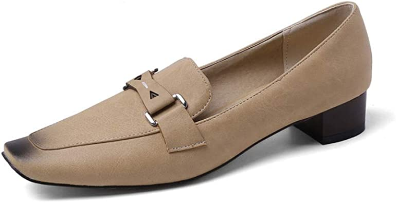 Women's Vintage Leather Penny Loafers