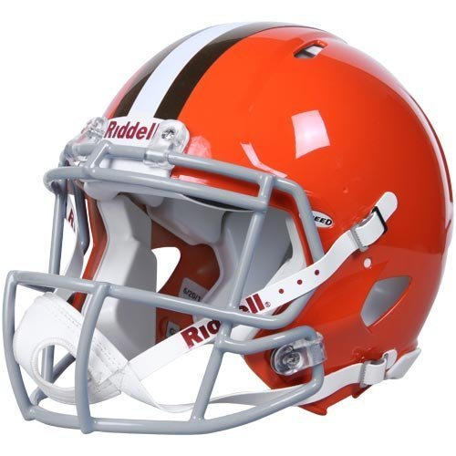 Cleveland Browns SPEED Revolution Authentic Full Size Football Helmet 129419 (Cleveland Browns Helmet)