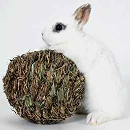 Peter\'s Woven Grass Play Ball for Rabbits