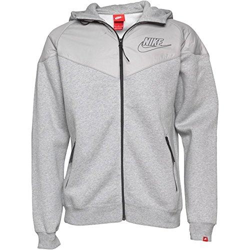 Sudadera con capucha para hombre Nike Futura Logo gris: Amazon.es: Ropa y accesorios