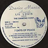 Lil Louis And The Diamond Corp. - 7 Days Of Peace / War Games - Dance Mania - DM 015