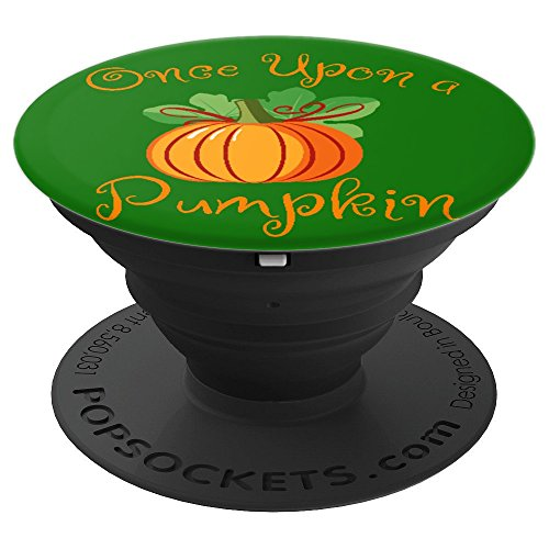 Pumpkin Lovers Halloween Text Quote - PopSockets Grip and Stand for Phones and Tablets for $<!--$11.99-->