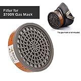 Festnight JXYUEXING1pc Gas Mask Filter Chemical