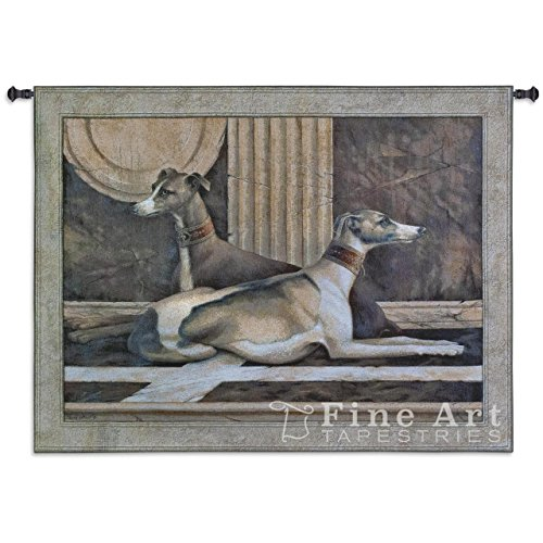 Tapestry Greyhound - Fine Art Tapestries