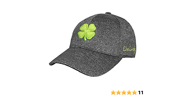 Black Clover Lucky Heather Smoke Flex Cap Neon//Smoke L//XL