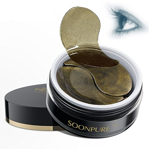Black Gold Collagen Eye Mask Eye Strips Eye Pads Patches-Useful for Removing Dark Circles and Eye Bag+ Eliminating Edema and Crow's-feet+Anti-Aging+Anti-Wrinkle+Moisturising - Glasses Sunlight That In Get Dark