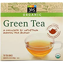 365 Everyday Value Organic Green Tea (70 Tea Bags), 4.9 oz