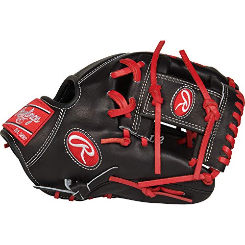 Rawlings PROSFL12 Pro Preferred Francisco Lindor BB Gloves (Right Hand), Black, Size 11.75