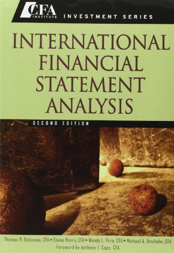 International Financial Statement Analysis, Second Edition Set (Book + Workbook)