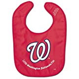 WinCraft MLB Washington Nationals WCRA0118414 All Pro Baby Bib