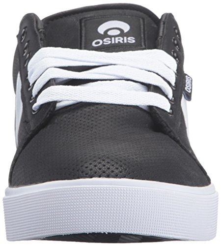 Osiris Mens Rebound VLC Skateboarding Shoe Black/Perforated
