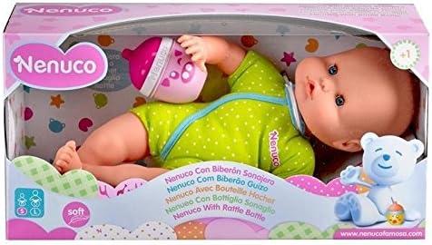 Colori Assortiti 700012087 Multicolore Nenuco Famosa 700012087-Bambola Biberon