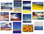 Pack of 12 Scenic Artistic Landscape...