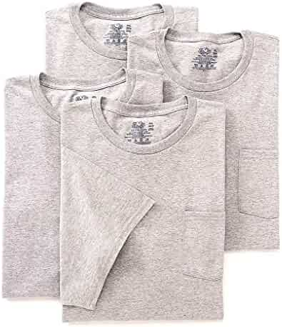 Fruit of the Loom Men's Pocket T-Shirt Multipack