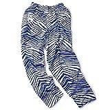 Zubaz Los Angeles Dodgers Blue White Vintage Style Zebra Pants