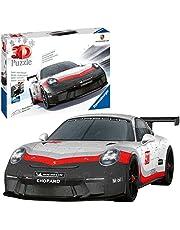 Ravensburger 111473 Porsche GT3 Cup 3D Puzzel, 108 Stukjes, Vanaf 10 Jaar, meerkleurig
