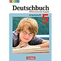 Deutschbuch - Differenzierende Ausgabe: 5. Schuljahr - Arbeitsheft mit Lösungen
