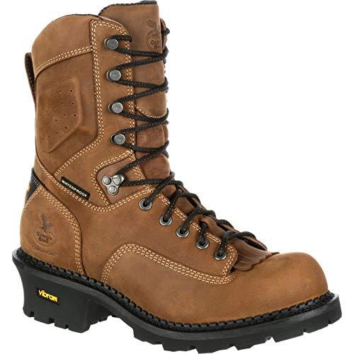Georgia Boot Comfort Core Composite Toe Waterproof Insulated Logger Work Boot -