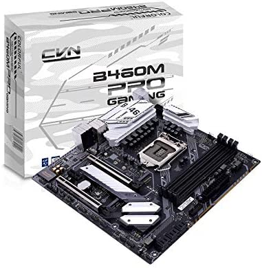 docooler Colorful Scheda Madre Colorata CVN B460M Gaming PRO V20 Supporta processori Intel Core di Decima Generazione (Serie Comet Lake-S, Socket 1200)