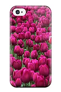 New Arrival Case Cover With Design For Iphone 4/4s- One In A Million Skagit Valley Tulip Festival Washington 4959306K88182644