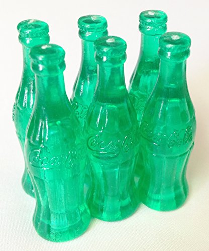 Miniature Coca Cola Bottles (Mini Plastic 1 5/8