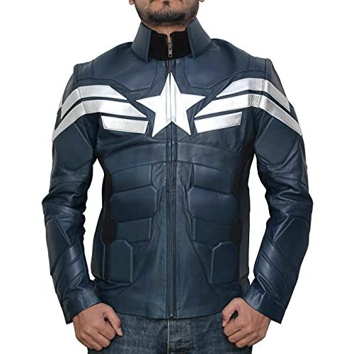 Cheap Decrum Captain America Winter Soldier Jacket - Captain America Costume Jacket supplier