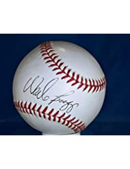 Signed Wade Boggs Baseball - American League Certified Authentic - PSA DNA Certified - Autographed B